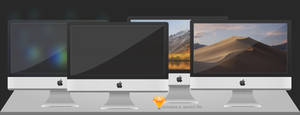 iMacs with Sketch file.