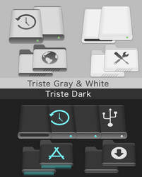 Triste-Icons mac by allannyholm