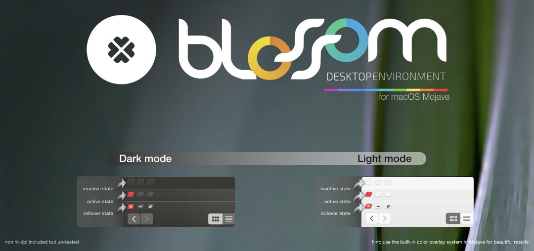 Blossom Mojave Theme by allannyholm on DeviantArt