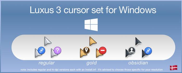 Luxus3 for Windows - hotspot correction