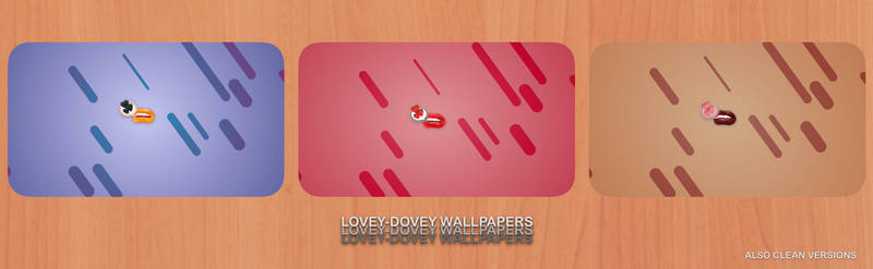 Lovey-dovey Wallpapers