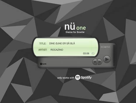 Nu-one Bowtie theme