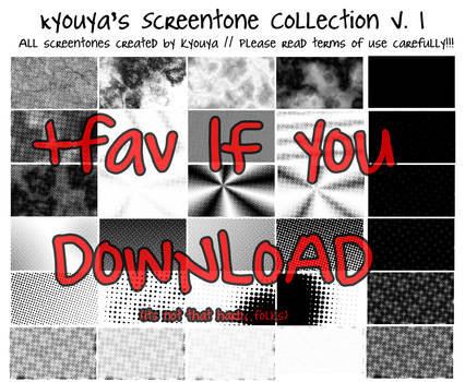 Screentone Collection v.1