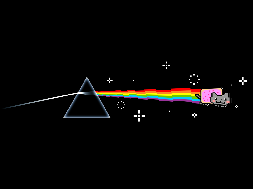 dark side of nyan wallpaper by davidwoodfx on deviantart
