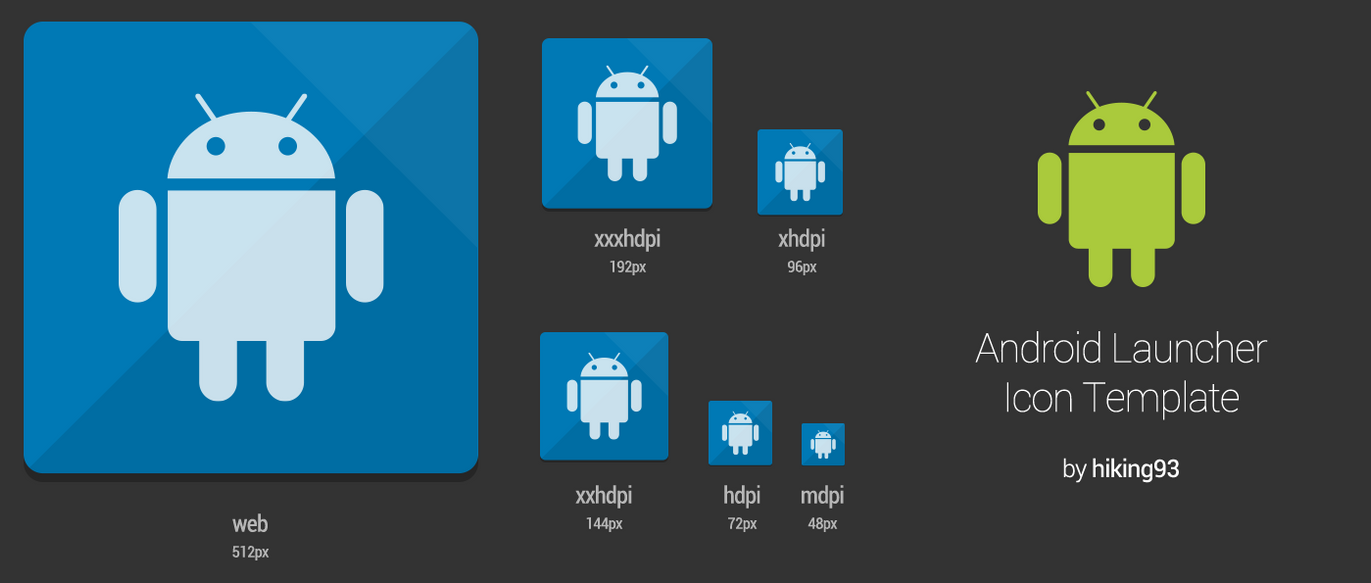 android launcher icon template by hiking93 on deviantart