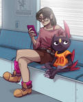 Girl with her Sneasel