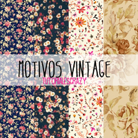 Motivos vintage para photoshop by tutorialescrazy