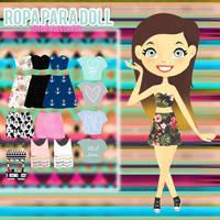 Ropa para doll by tutorialescrazy