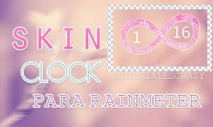 Skin clock infinito para rainmeter by tutorialescrazy