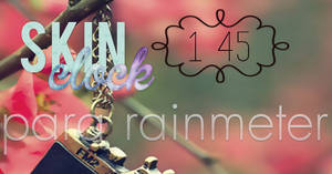 Skin Clock para rainmeter by tutorialescrazy