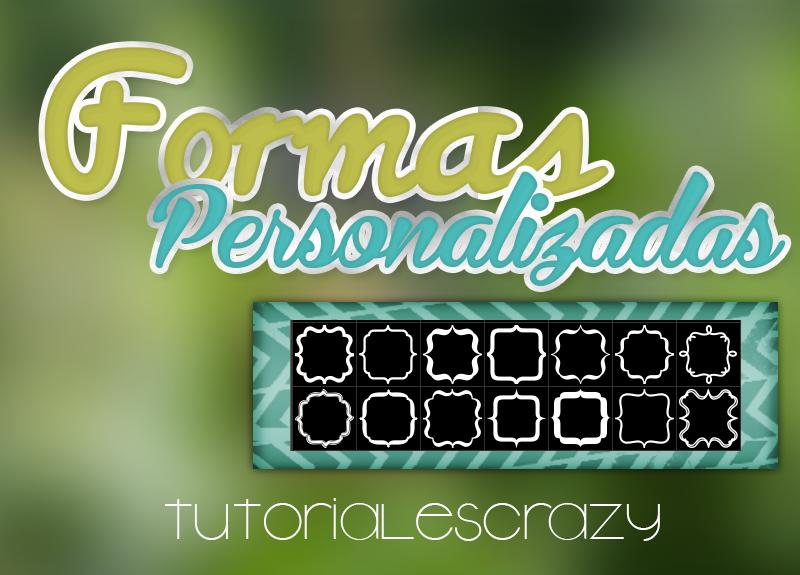 Pack de formas by tutorialescrazy