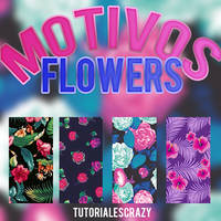 Motivos flowers by tutorialescrazy