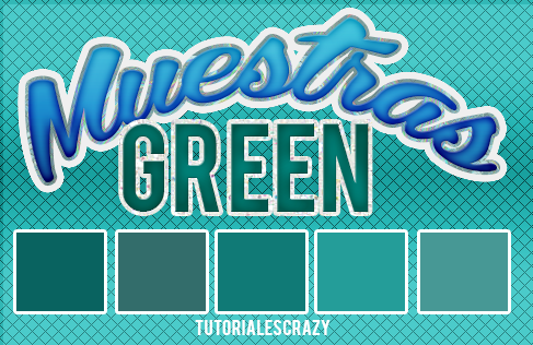 Muestras green by tutorialescrazy