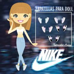 Zapatos NIKE para doll