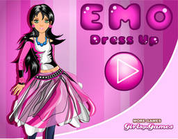 Emo Girl Dress up game by TricksterGames