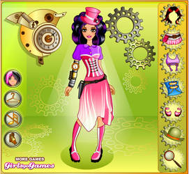 Steam Punk Dress Up Colorful