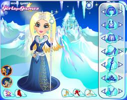 Snow Queen Dress up by TricksterGames