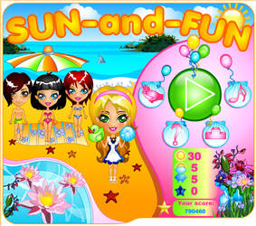 Sun and Fun. Cute time manager by TricksterGames