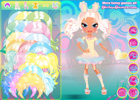 Glamour Bunny Dress Up by TricksterGames