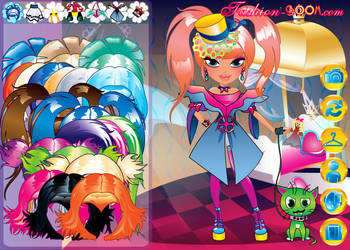 Cute Little Goth Princess Dres by TricksterGames