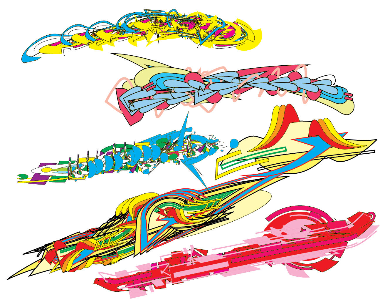 junk paris illustrator brushes by junkparis