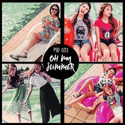 031 Psd - Oh My Summer by LivOllie