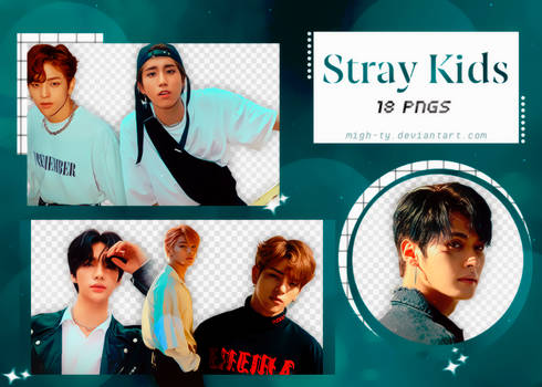 PNG Pack Double Knot | Stray Kids