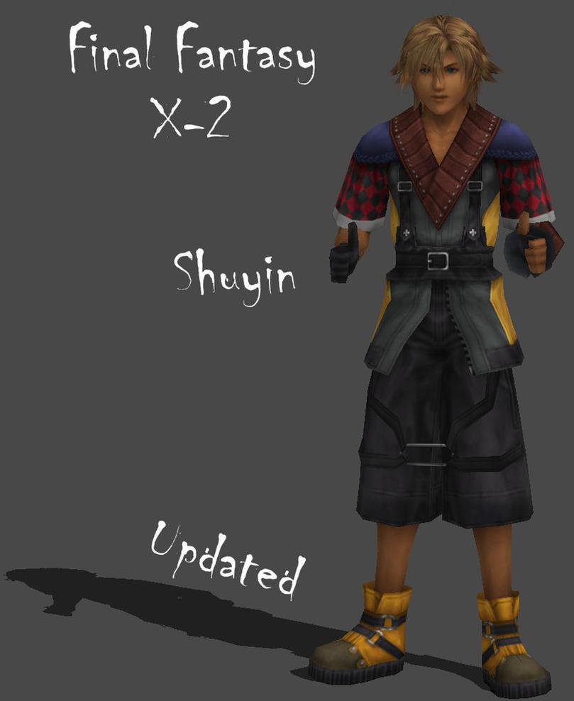 FFX 2 Shuyin Updated By Frozen Knight