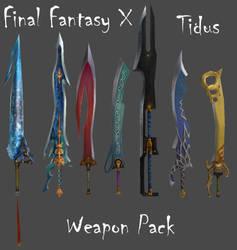 FFX Tidus Weapon Pack