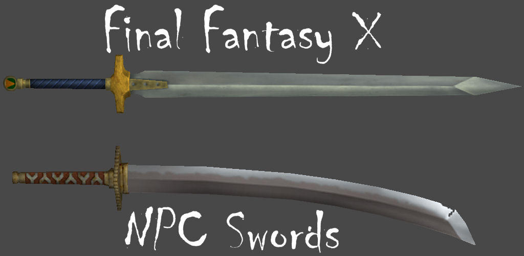 FFX NPC Swords by Frozen-Knight
