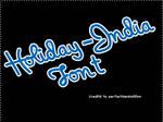 Font O5 Holiday India