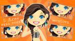 5 Aros PARA Doll formato png