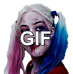 Harley Quinn Suicide Squad Winking 2 Gif Png By Jokerreality59 On Deviantart