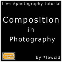Live tutorial log: Composition by PhotographyChannel