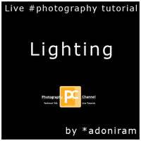 Lighting: Live Tutorial by PhotographyChannel