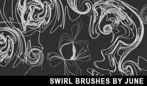 Swirl Brushes by dearestyou