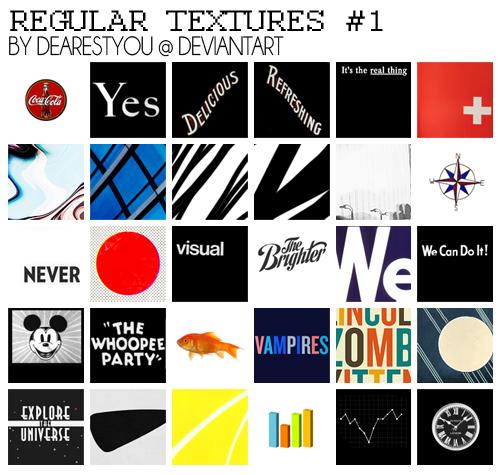 100x100 Regular Textures 1 by dearestyou