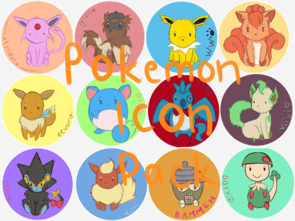 Pokemon Icons by awdrie