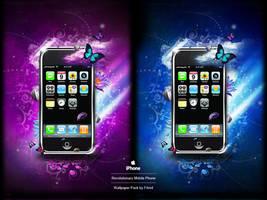 IPhone 3G Fantasy Walls by F4rn4