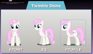 Twinkle Toes (aka Twinkleshine, Moondancer)