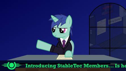 Stable-Tec Self-Intro