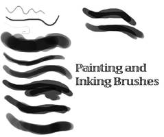 Painting and Inking Brushset