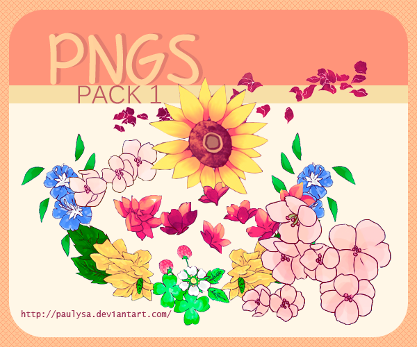 Png pack1 by Paulysa
