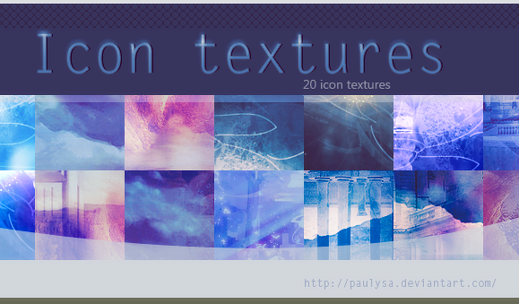 Icon textures (pack1) by Paulysa