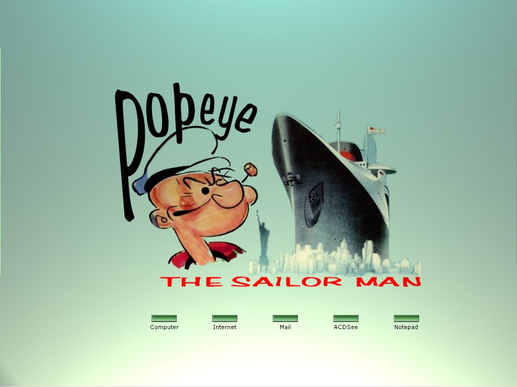 Popeye The Sailor Man By Popeye On Deviantart