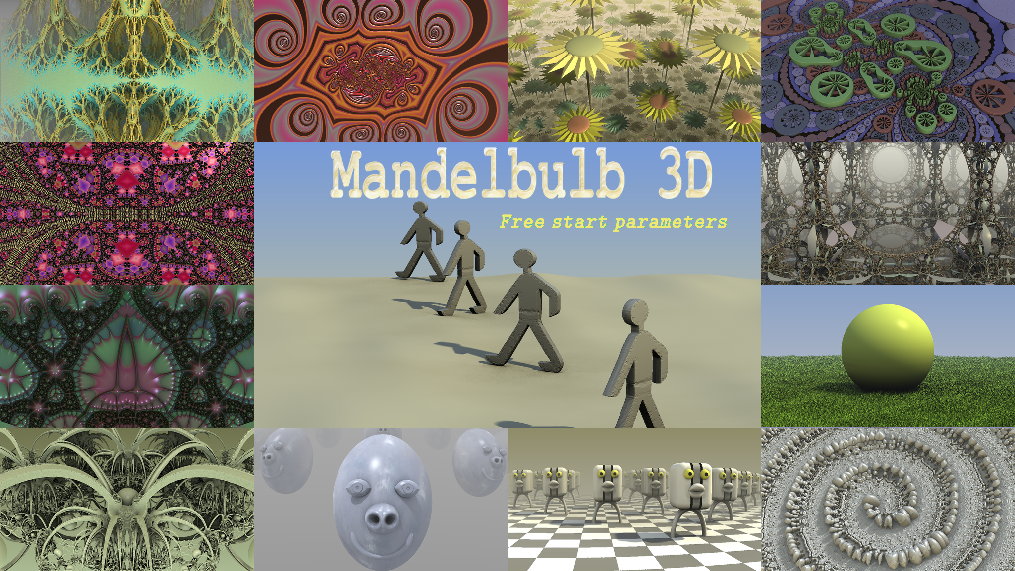 Mandelbulb 3D Start Parameters Vol  1 by hypex2772 by