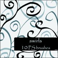 swirls brushes by szuia