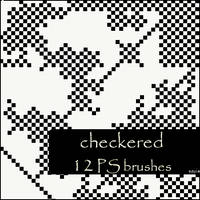 checkered brushes by szuia