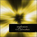 explosion brushes