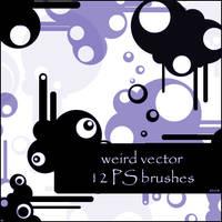weird vector brushes by szuia